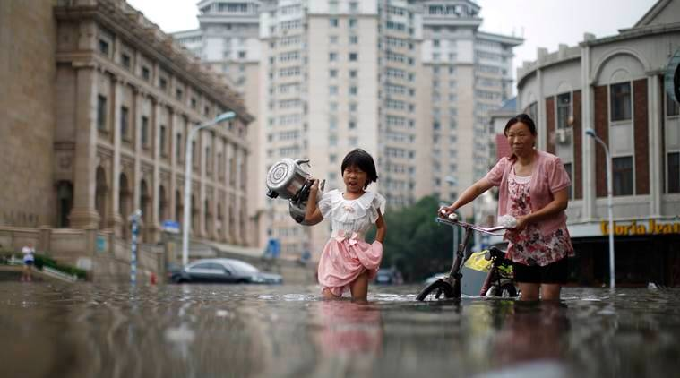 china floods, north china flooding, beijing floods, china, floods in china, flood in china, heavy rain in china, world news, latest news