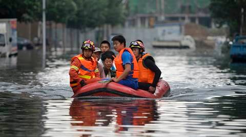China rains, China floods, 300 dead or missing in China rains, heavy rains in China, rescue operations for China floods, China rains news, China news, world news
