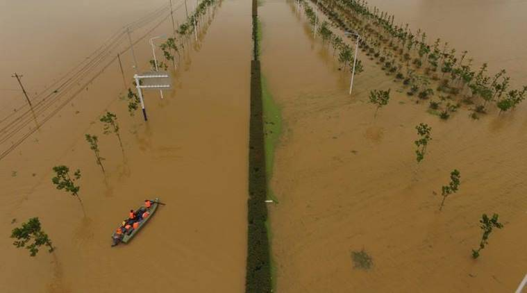 china rains, china floods, china flood deaths, china news, world news