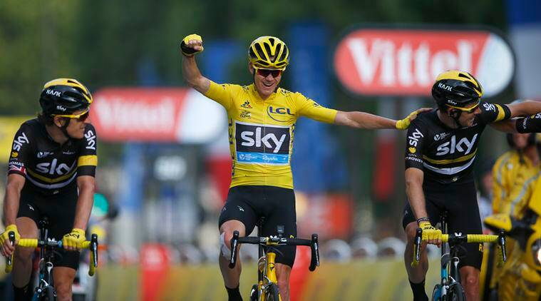 Froome poised to land third Tour title