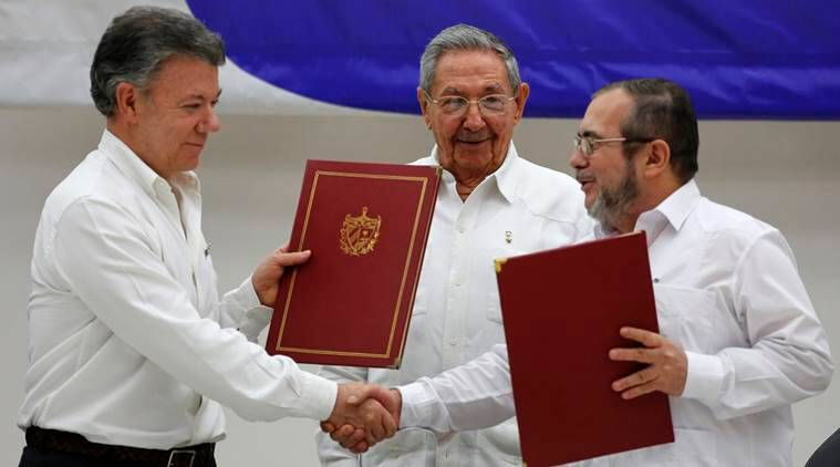 Colombia, FARC, Colombia peace deal, peace deal in colombia, colombia peace talks, peace talks in colombia, colombia civil war, civil war in colombia, ceasefire agreement in colombia, colombia ceasefire agreement, colombia news, world news, latest news