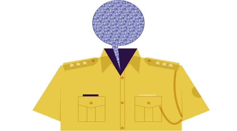 Police, india police, Uttar Pradesh police, police officers suspended, police officer abuse, police bad behaviour, police station, india  news