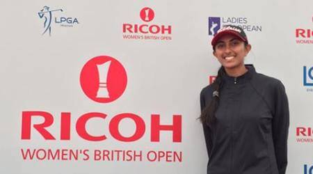 Aditi cards nine-under, qualifies for British Open