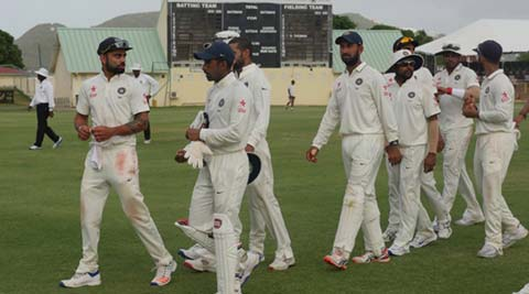 India tour of West Indies 2016: On Day 2, overeager Indian seamers  fail to find radar