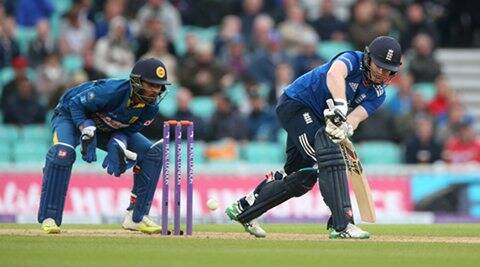 Britain Cricket - England v Sri Lanka - Fourth One Day International - Kia Oval - 29/6/16 England's Eoin Morgan in action Action Images via Reuters / Matthew Childs Livepic EDITORIAL USE ONLY.