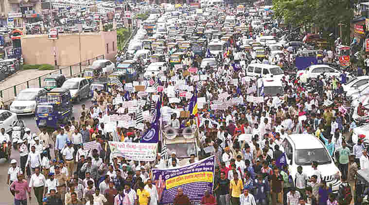 dalit, dalit attack, dalit attacked, dalit atrocities, dalit protest, Gujarat dalit protest, Gujarat dalit, Una dalit incident, cow slaughter, beef, india news