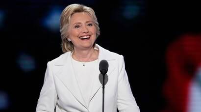 Hillary Clinton gives speech of her life, vows to work for all Americans