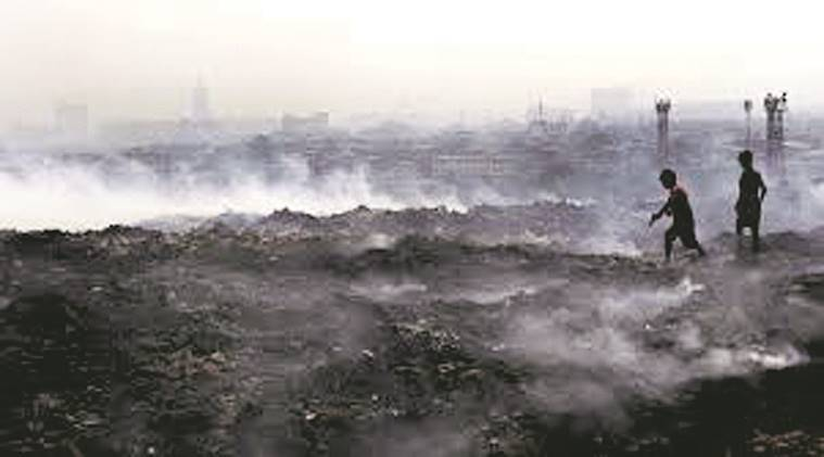 Deonar, Deonar dumping ground, Deonar dumping ground fire, dumping ground fire, BMC, sabotage, methane gas, fire, mumbai news, civic bodies, maharashtra news