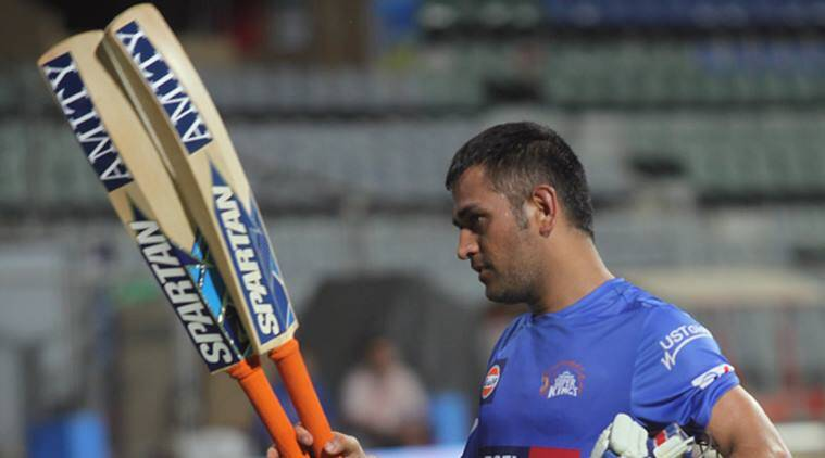 Image result for ms dhoni bat thick