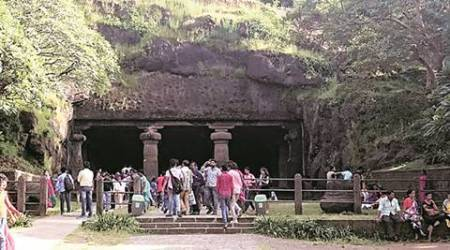 Elephanta Island, mumbai, mumbai news, mumbai rewind, independence day, mumbai independence day celebration, indian express news, maharashtra government, gateway of india, latest news