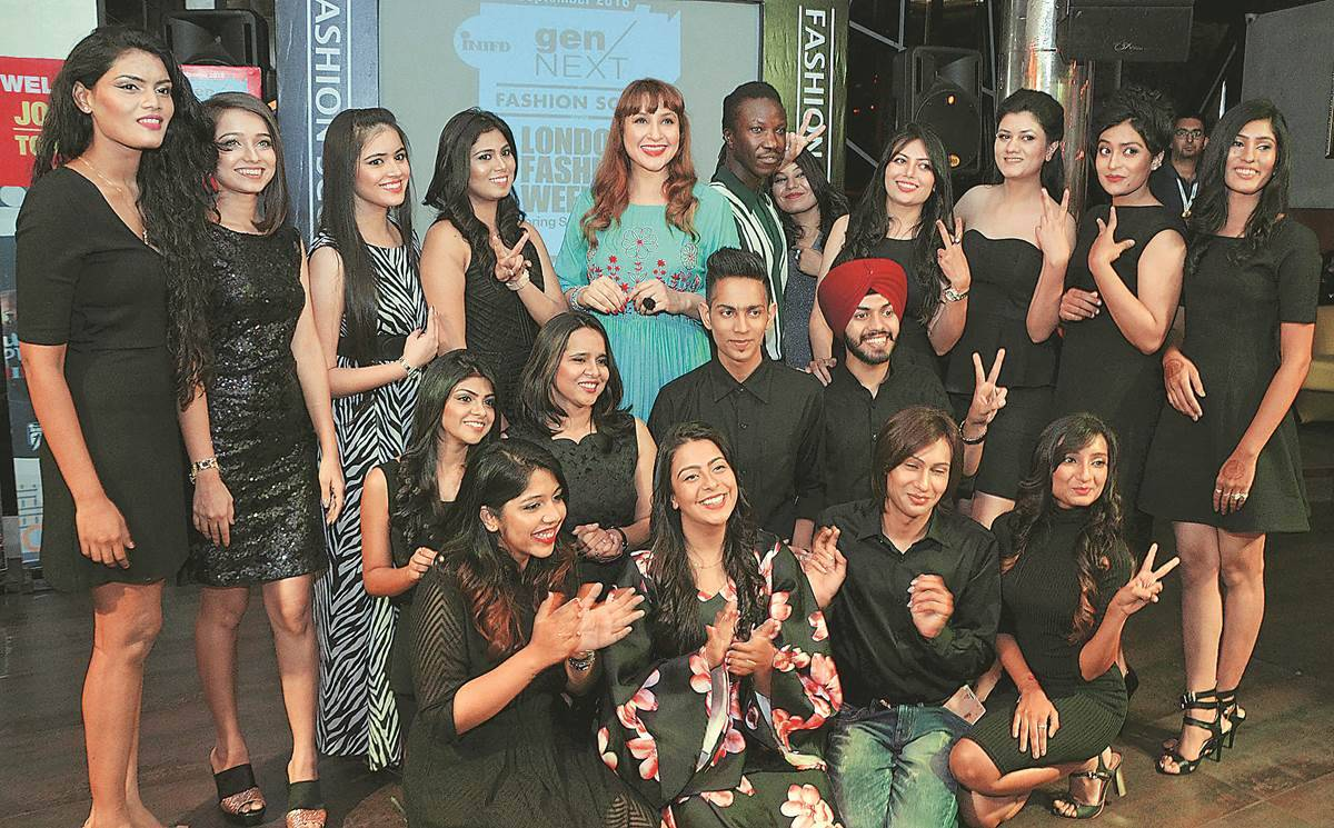 International Institute Of Fashion Design Ten Lucky Students To Showcase Collections At London Fashion Week India News The Indian Express