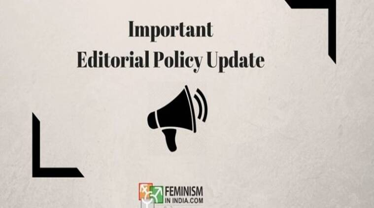 They formed a new editorial policy where men don't write on women's exp, upper-castes on Dalits, heterosexuals on LGBT, etc.