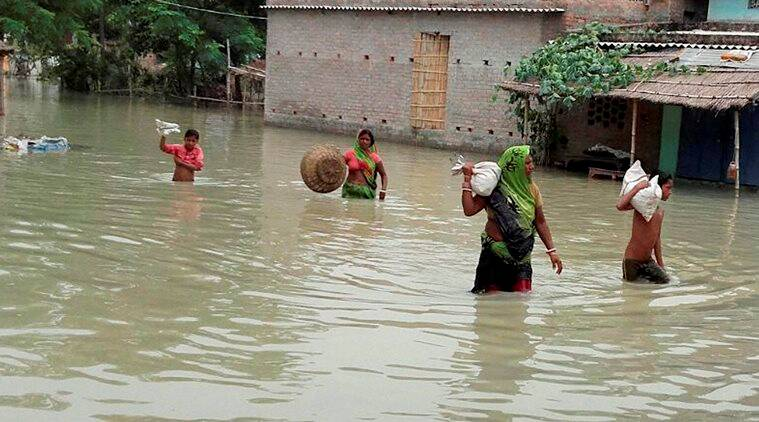 National Disaster Response Force, NRDF, Floods in India, how many states are flooding, UP floods, MP floods, Bihar floods, Rajasthan floods, monsoon in India, monsoon update, Heavy rains in India, Akhilesh Yadav, Harish Rawat, Nitish Kumar, Vasundhara Raje, rescue operations in floods affected areas, India news,