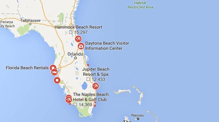 Florida Artificial Reefs Map.New Artificial Reef Is Sunk Off Florida S Pompano Beach World News