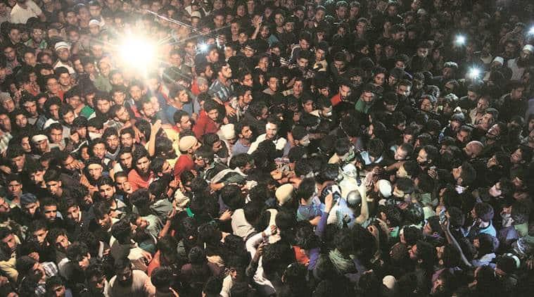 Burhan Muzaffar Wani, Jammu and Kashmir, Hizbul Mujahideen,Burhan Wani's killing,kashmir protests, burhan wani funeral,