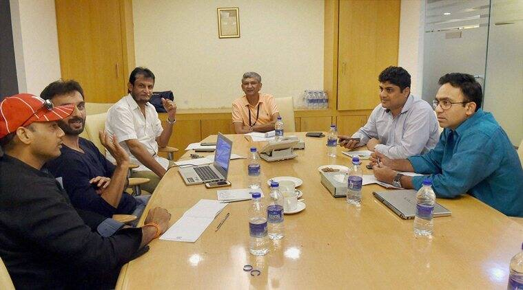 BCCI selection committee meeting