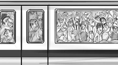 The funny and the dark of Delhi Metro travel: An outside view by an insider
