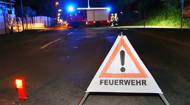 2 wounded in German ax attack critical