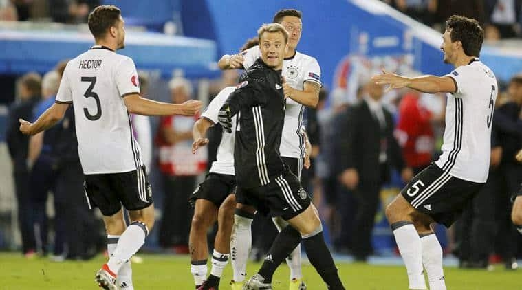 Germany vs France, France vs Germany, Ger vs Fra, Thomas Mueller, Mueller, Joachim Loew, Loew, Euro 2016, Euro 2016 results, Euro 2016 semi-finals, Football