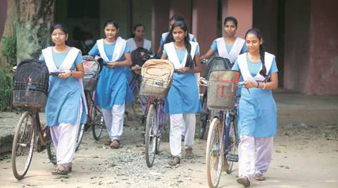 Chandigarh: School girls on the go, rewarded with own name plate