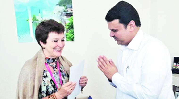irina glushkova, state culture and tourism ambassador, fadnavis in russia, fadnavis russia visit, india news