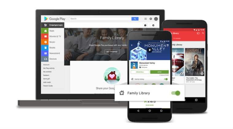 google. google family library, google family sharing plan, google family plan, google family library charges, google family sharing subscription, google play store, technology, technology news