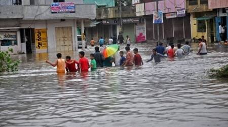 After rain, many areas face water-logging in Ahmedabad