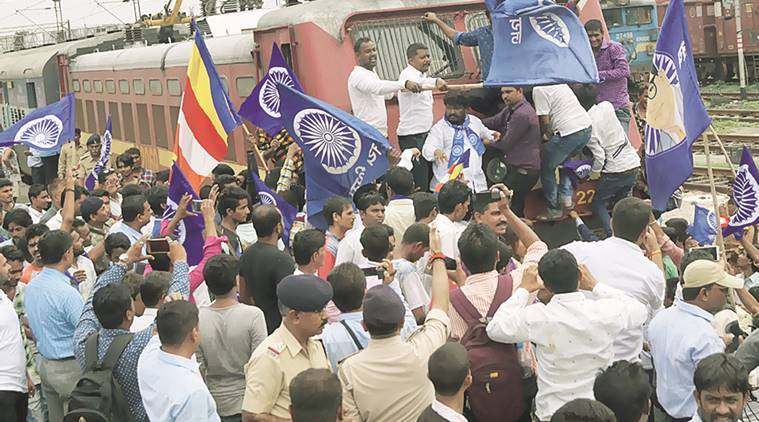 gujarat, gujarat dalit protest, una dalit protest, dalit protests, dalits, indian dalits, gujarat dalits, gujarat news, dalit flogging, gujarat news, india news, latest news