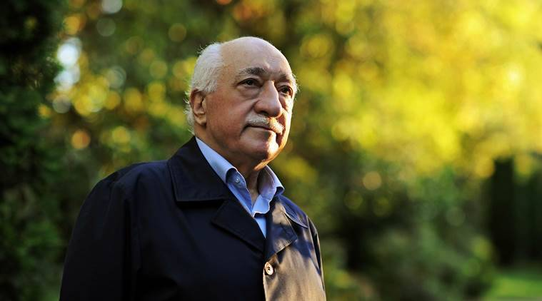 """FILE - In this Sept. 24, 2013 file photo, Turkish Islamic preacher Fethullah Gulen is pictured at his residence in Saylorsburg, Pa. A lawyer for the Turkish government, Robert Amsterdam, said that """"there are indications of direct involvement"""" in the Friday, July 15, 2016, coup attempt of Fethullah Gulen, a Muslim cleric who is living in exile in Pennsylvania. He said he and his firm """"have attempted repeatedly to warn the U.S. government of the threat posed"""" by Gulen and his movement. (AP Photo/Selahattin Sevi, File)"""