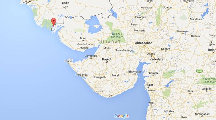 Harami Nala in Gujarat. (Source: Google Maps)