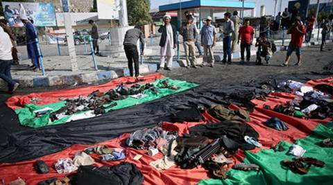 kabul, afghanistan, kabul attack, kabul hazara attack, hazara demonstration kabul, hazara minority, hazara attack, hazara community protests, gas pipeline, world news