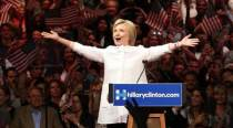 Hillary Clinton creates history, wins Democratic nomination for US President