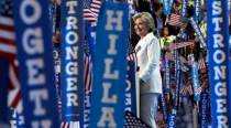 Accepting White House nomination, Hillary Clinton offers a 'clear-eyed' vision