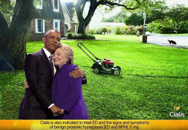 Remember Barack Obama and Hillary Clinton's hug? It has been photoshopped left right and centre
