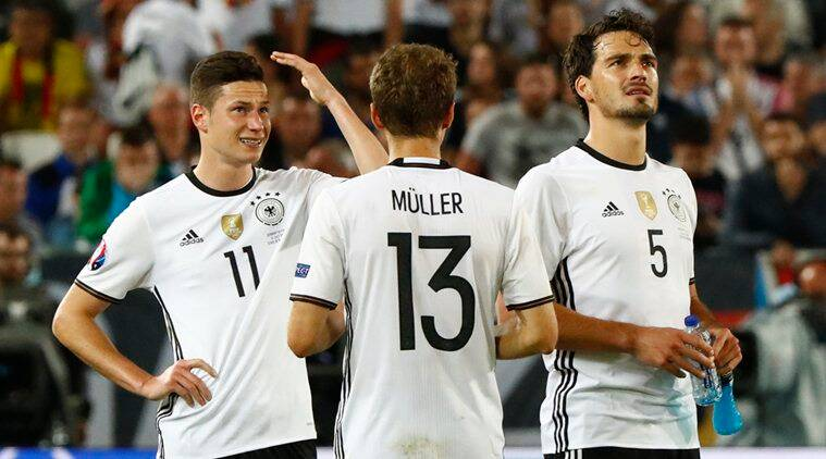Germany that have not lost in six games play France on Thursday. (Source: Reuters)