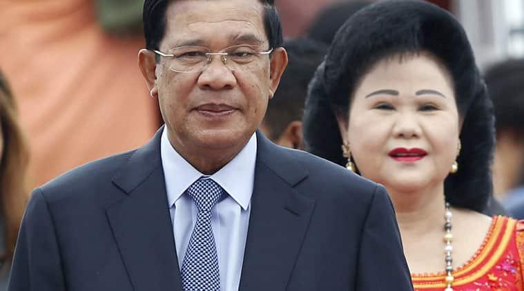 Cambodia, Phnom Penh, Cambodia govt, PM Hun Sen, Kem Sokha, Cambodia National Rescue Party, Cambodian opposition, Cambodian politics, Cambodia news, world news, latest news, indian express