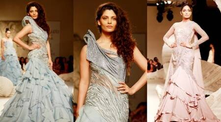 India Couture Week 2016: Saiyami Kher turns showstopper for Gaurav Gupta's Scape Song collection