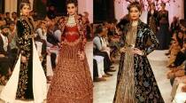 The finale by Rohit Bal was a showcase of opulence and grandeur
