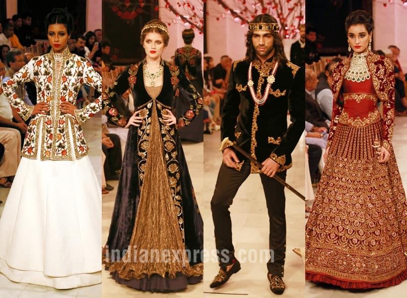 rohit bal, rohit bal designs, rohit bal russian indian designs, rohit bal icw 2016, india couture week 2016, india couture week, icw 2016