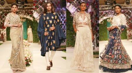 India Couture Week 2016: Varun Bahl's Vintage Garden is an elegant bouquet of designs