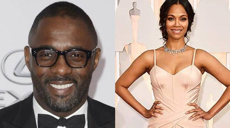 Zoe Saldana says that Idris Elba is the perfect person to take over from Daniel Craig as the iconic British spy in james bond.