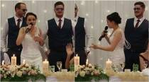 Video: Bride sings rap song for her husband at the wedding and it's the coolest thing you'll see today