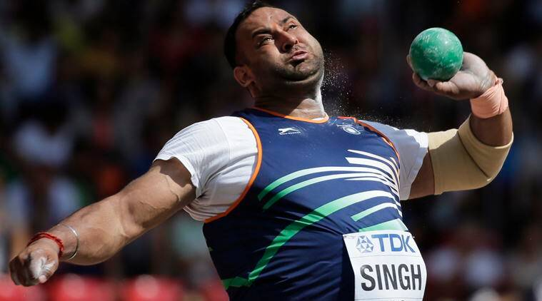 inderjeet singh, inderjeet singh india, inderjeet shot put, shot put, rio 2016, rio olympics, rio 2016 olympics, sports news, sports