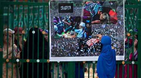 Death toll in Kashmir clashes  rises to 49; curfew continues - The Indian Express