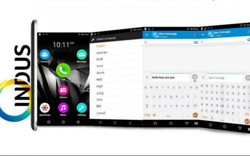 Indus is the second most popular mobile operating system after Android in India
