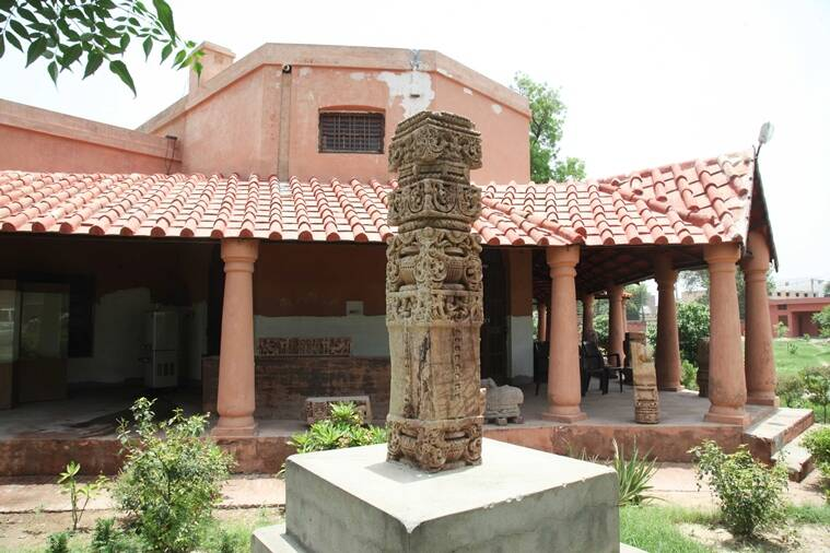 The zonal museum of archaeology in Hisar, Haryana. (Express photo by Jaipal Singh)