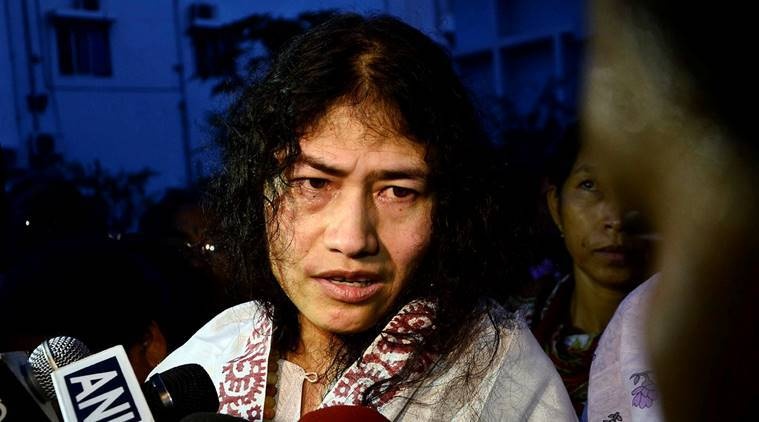 Irom Sharmila, Irom Sharmila hunger strike, sharmila hunger strike, manipur, manipur elections, elections in manipur, manipur polls, afspa, afspa manipur, manipur afspa, irom sharmila breaks fast, state failure, sharmila breaks strike, irom sharmila elections, assam rifles, malom massacre, manipur massacre, assam rifle massacre, irom sharmila politics, irom sharmila afspa, irom sharmila marriage, sharmila satyagraha, supreme court, indian express column