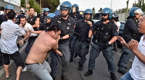 Florence, Italy, Chinese community in Italy, Florence protests, Prato protests, Italy crackdown, Florence crackdown, Chinese in Italy, clashes in Italy, Clashes in Florence, Florence police clash with Chinese, world news, italy news