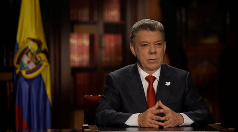 colombia, eln, colombia peace talks, colombia government, colombia juan manuel santos, santos, colombia president, colombia rebel group, colombia rebel, colombia ELN, world news, indian express
