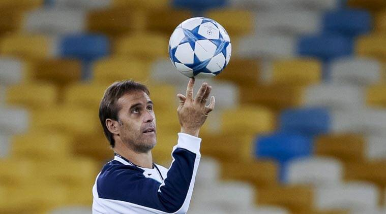 Lopetegui played for Castilla, Longrones and Rayo Vallecano and was a back-up keeper at Real Madrid and Barcelona. (Source: Reuters)